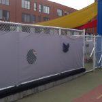 Toile clôture intimité